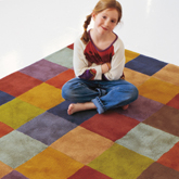 《Nani Marquina》2011秋冬Cuadros系列地毯家居用品Lookbook