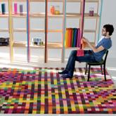 《Nani Marquina》2011秋冬Digit系列地毯家居用品Lookbook