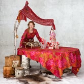 《Gudrun Sjoden》2013秋冬家居用品桌布系列Lookbook