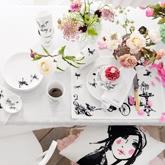 《H&M 》2013秋冬家居用品桌布系列Lookbook