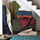 《The Company Store》2015秋冬家居用品地毯系列Lookbook