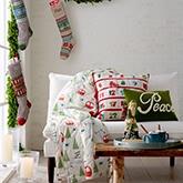 《Garnet Hill》2016秋冬家居用品圣诞节系列Lookbook