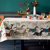 《Linvosges》2017秋冬家居用品桌布系列Lookbook