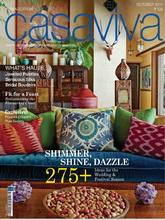 《Casaviva》印度版潮流家居设计装修装饰杂志2011年10月号