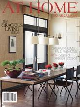 《At Home In Arkansas》美国室内设计流行趋势杂志2011年10月号