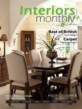 《Interiors Monthly》英国室内设计杂志2011年10月号