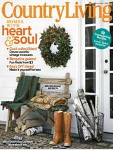 《Country Living》美国版家居设计杂志2011年11月号