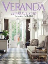 《VERANDA》美国时尚家居杂志2011年10月号