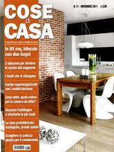 《Cose di Casa》意大利版时尚家居杂志2011年11月号