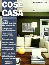 《Cose di Casa》意大利版时尚家居杂志2011年10月号
