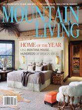 《Mountain Living》美国装饰家居杂志2011年11-12月号