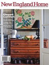 《New England Home》美国室内时尚杂志2011年11-12月号