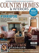 《Country Homes & Interiors》英国家居装饰杂志2011年11月号