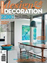 《Design & Decoration》英国版时尚家居设计杂志2012-2013年秋冬号Vol.3。