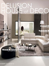 《Delusion House Of Deco》意大利版时尚家居杂志2012年11月号