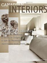 《Canadian Interiors》加拿大版时尚家居杂志2012年11-12月号