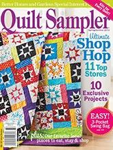 《Quilt Sampler》美国版时尚拼布杂志2013年春夏季