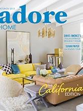 《Adore home》美国时尚家居杂志2013年10-11月号