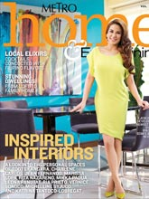 《MetroHome&Entertaining》菲律宾英文版时尚家居杂志2013年10月号