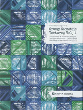 《Arkivia Books-Grunge Geometric Textures》2018-2019秋冬意大利面料趋势手稿