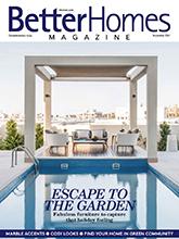 《Better Homes》迪拜版时尚家居设计杂志2017年11月号
