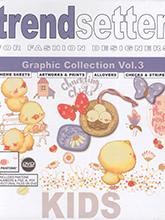 《Trend Setter-Kids》2018-19秋冬德国儿童图案色彩趋势手稿