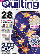 《Love Patchwork & Quilting》英国版时尚拼布杂志2017年12月号