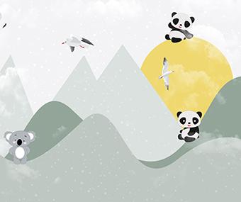 国潮之熊猫图案