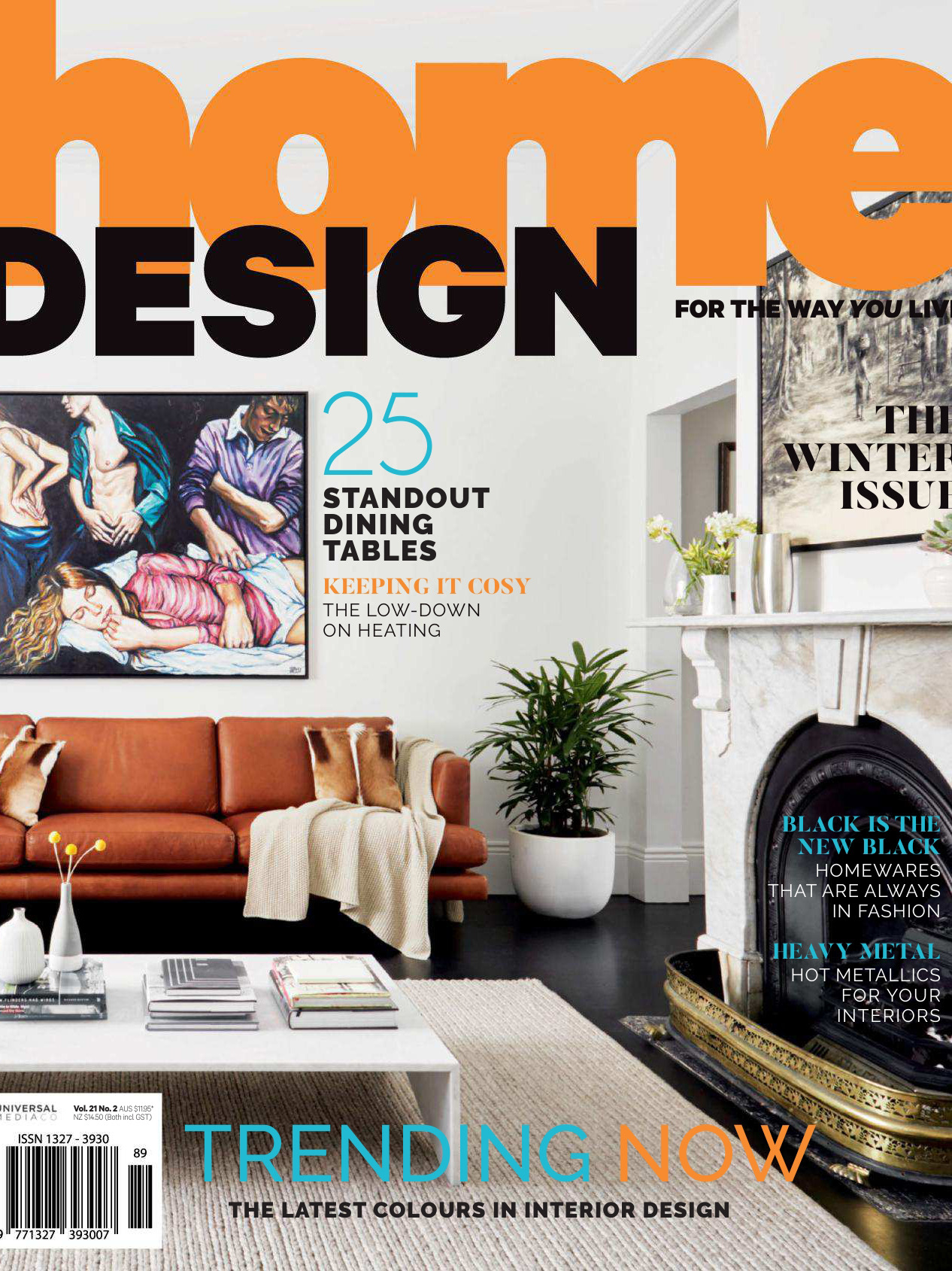 《Luxury Home Design》澳大利亚版时尚家纺杂志2018年04月号(Vol-21.No.2)