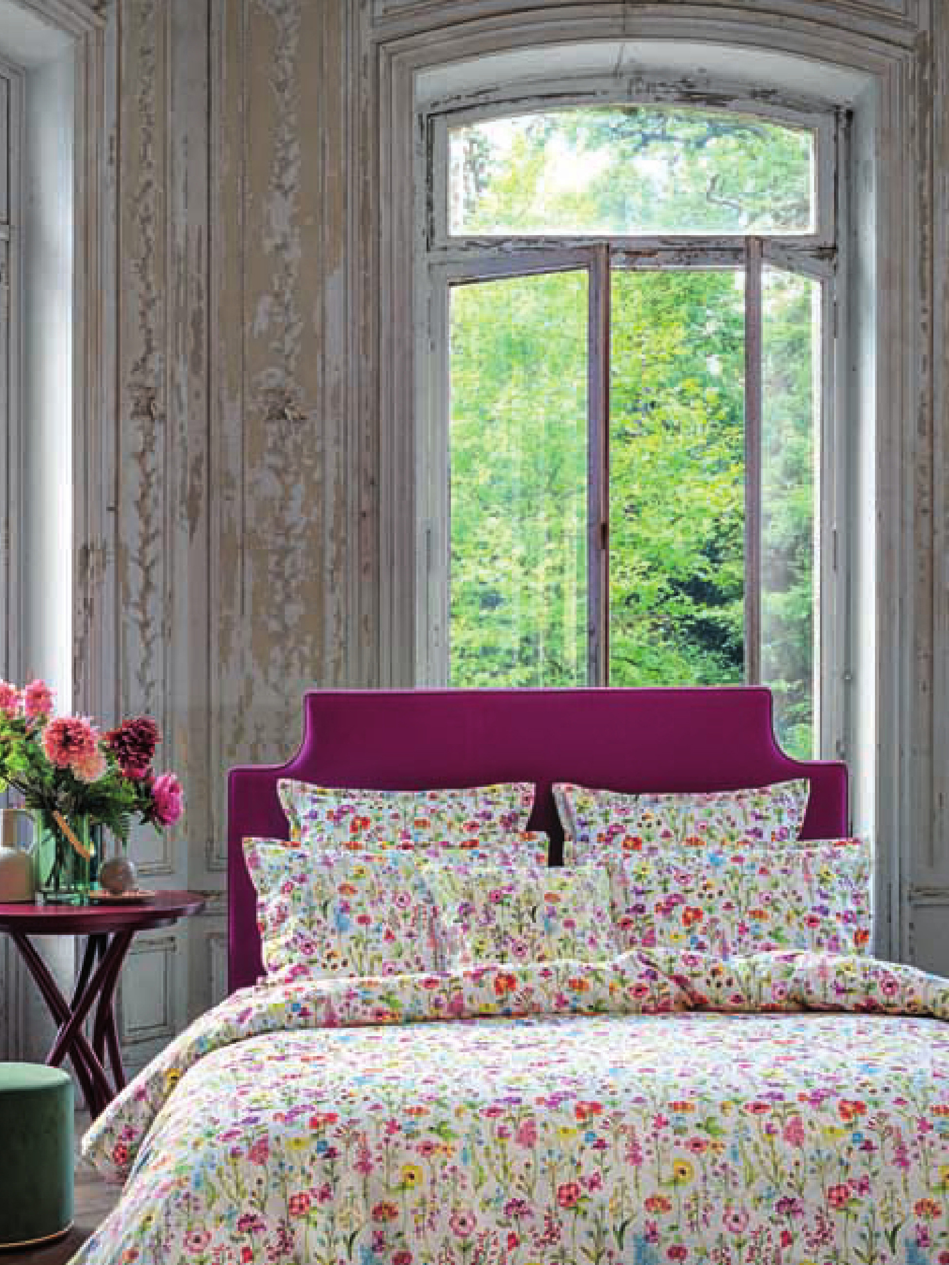 《Jardin Secret》2018春夏床上用品系列Lookbook