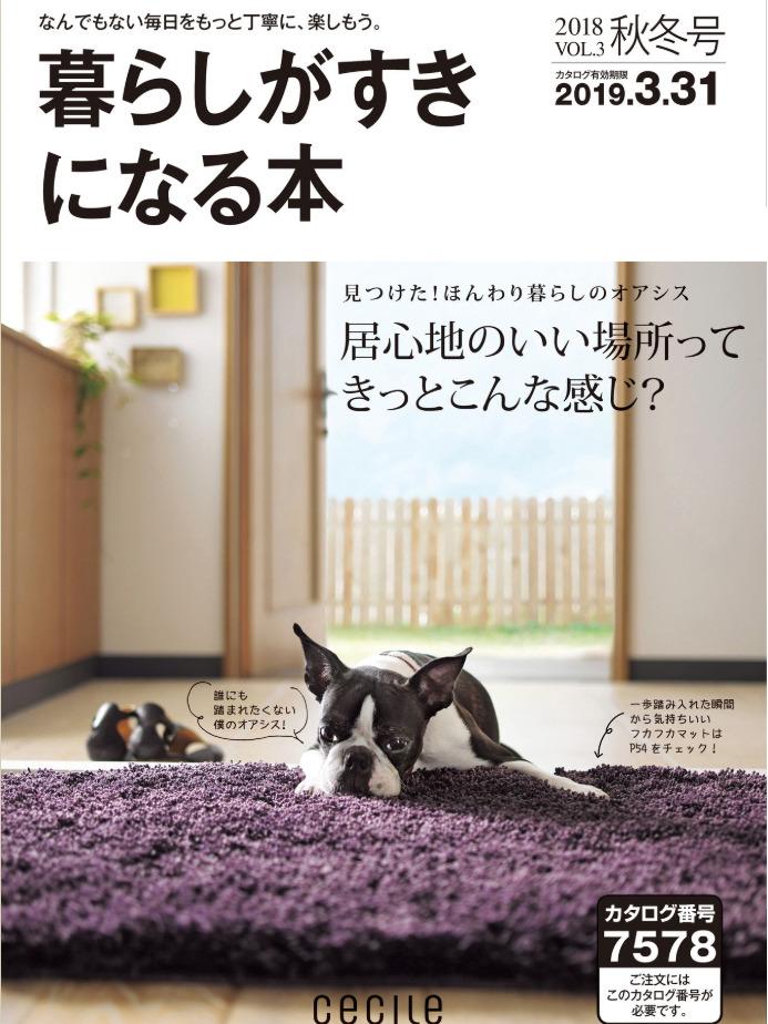 《暮らしがすきになる本》日本版时尚家居杂志2018-2019年秋冬号