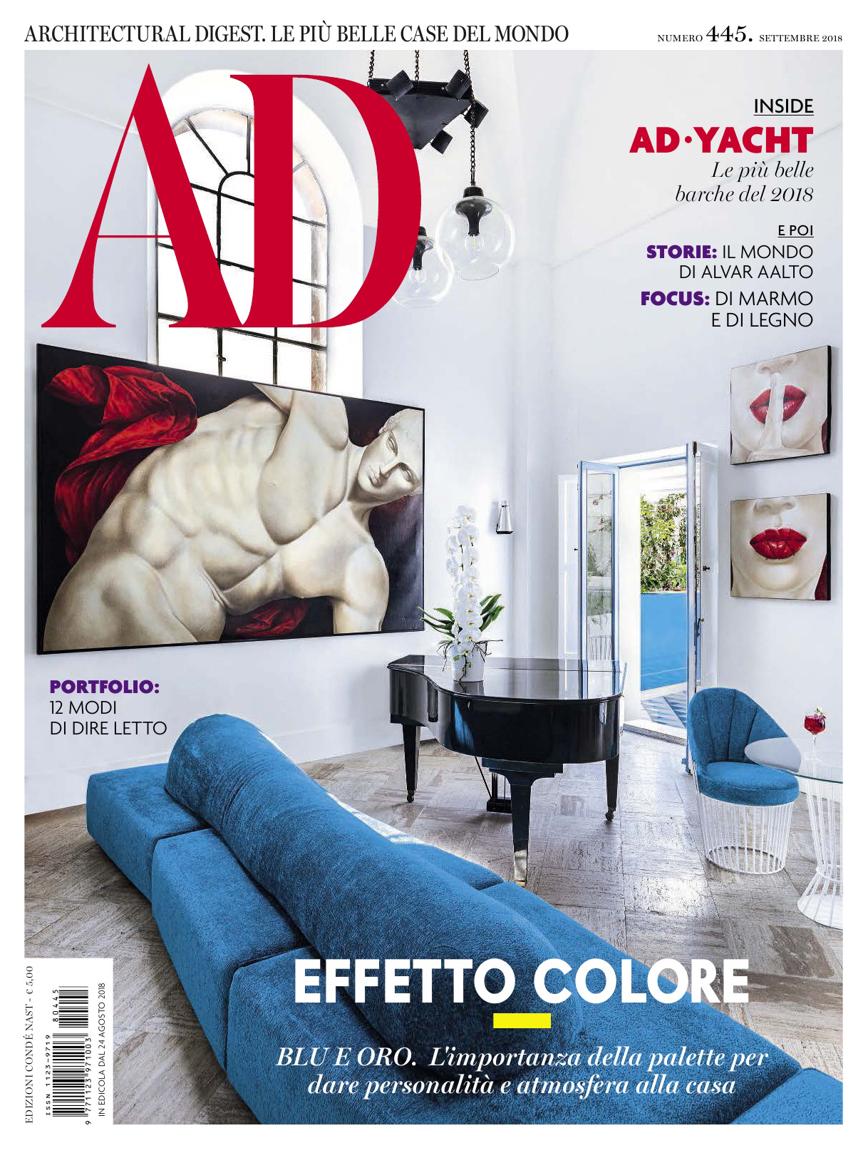 《AD》意大利版室内室外设计杂志2018年09月号