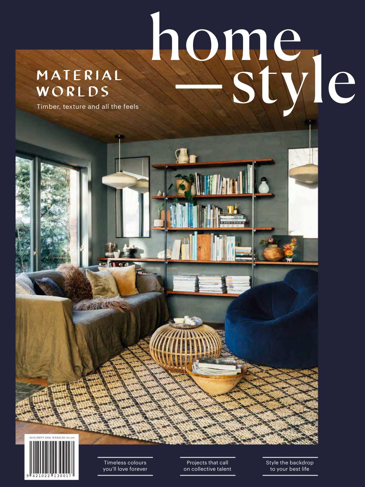 《Homestyle》新西兰室内装饰设计杂志2018年08月—2018年09月号