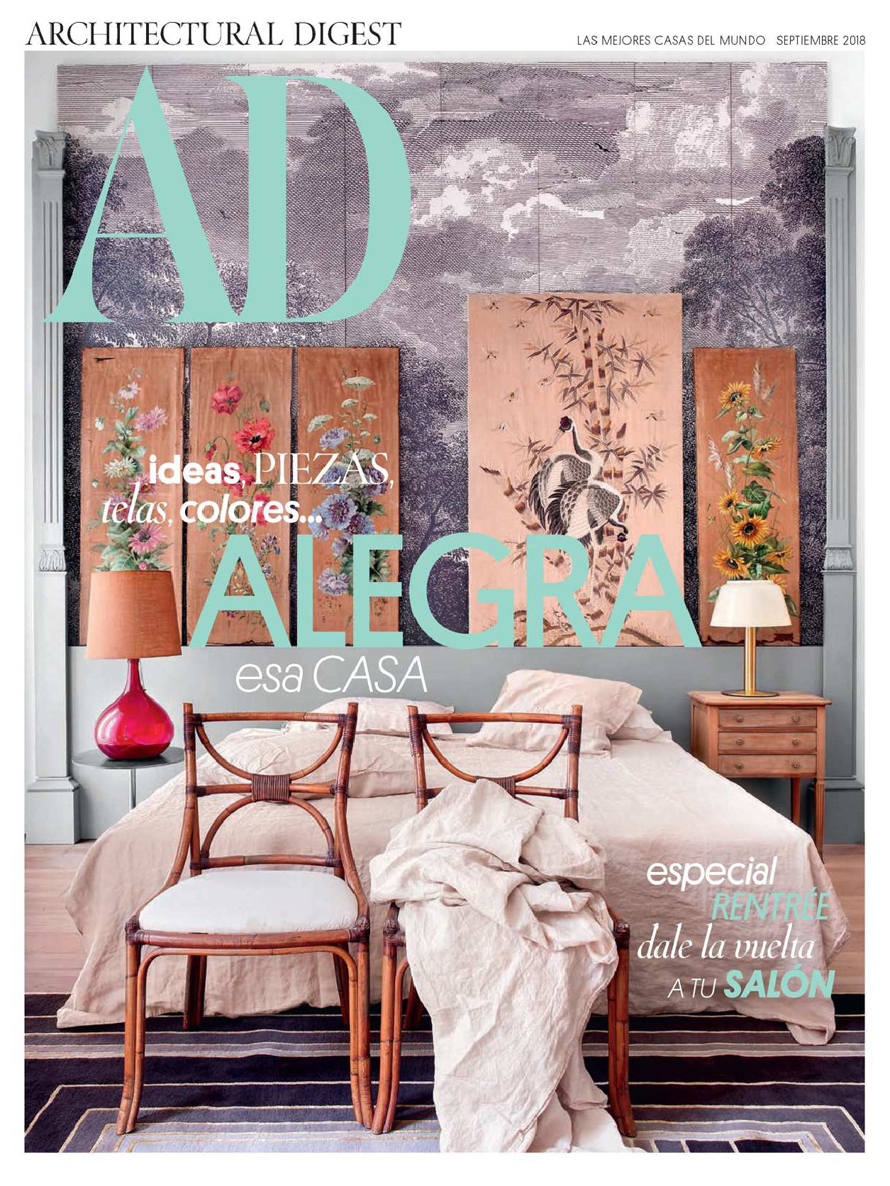 《AD》西班牙版室内室外设计杂志2018年09月号