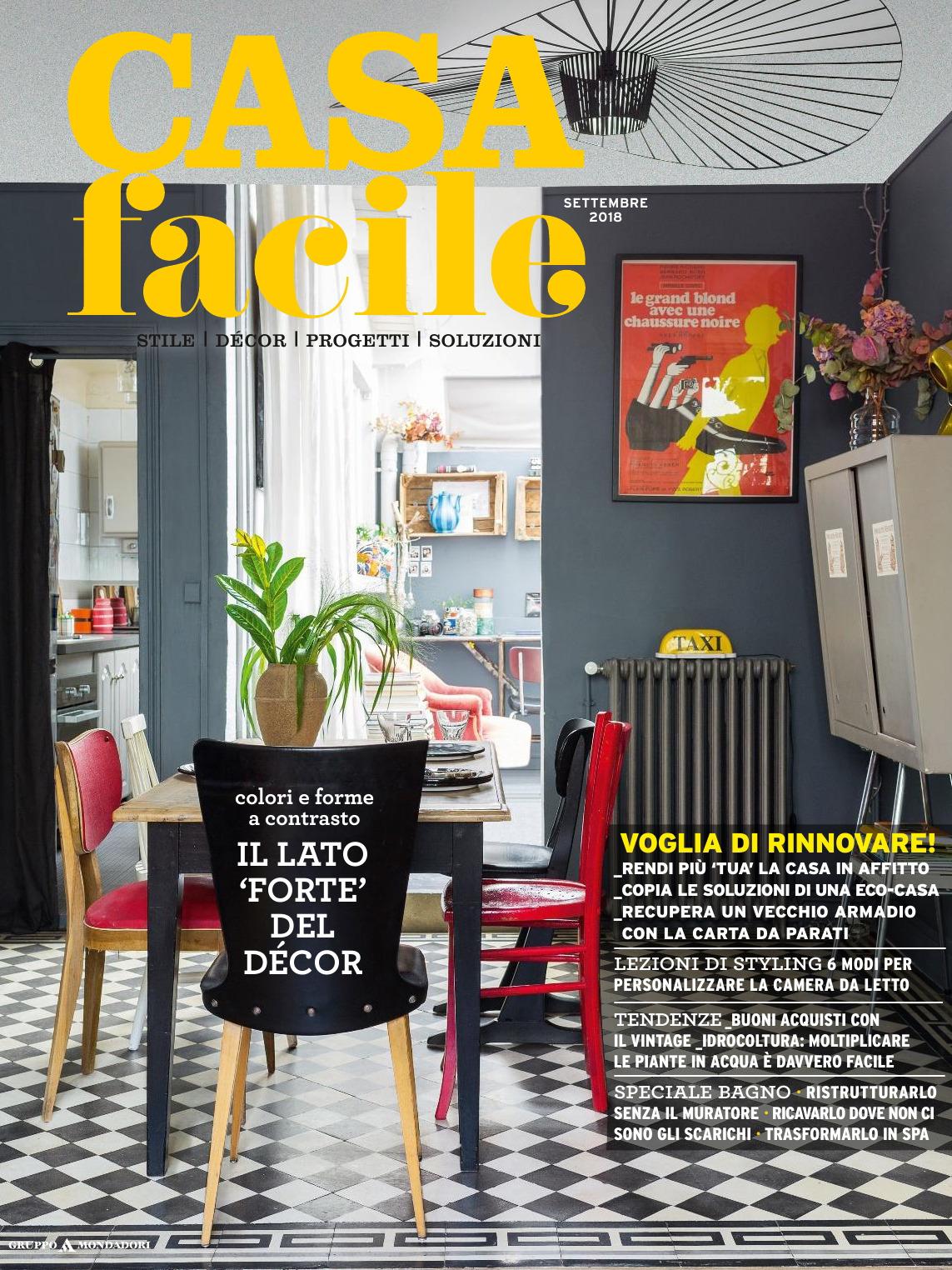 《Casa Facile》意大利家居空间装饰艺术杂志2018年09月号