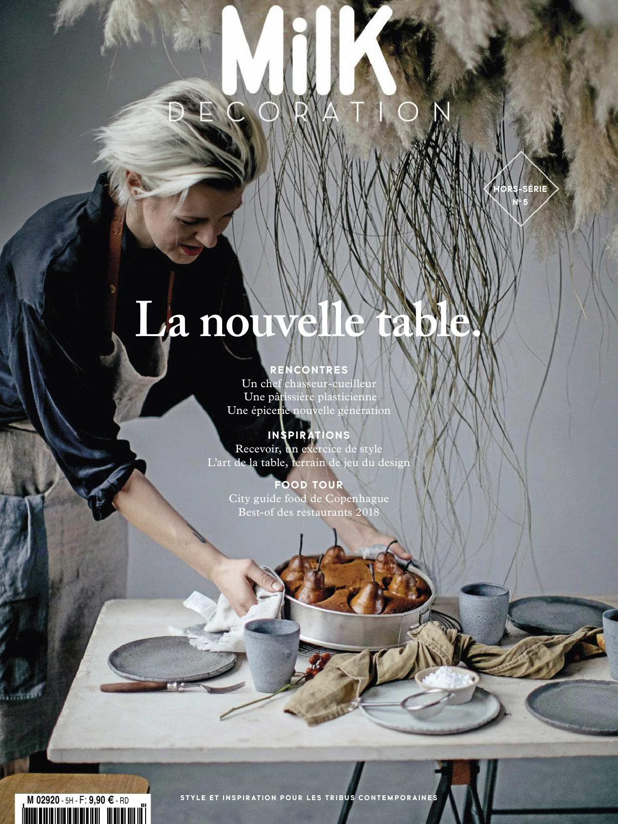 《Milk Decoration》法国家庭生活杂志2018-19年秋冬号