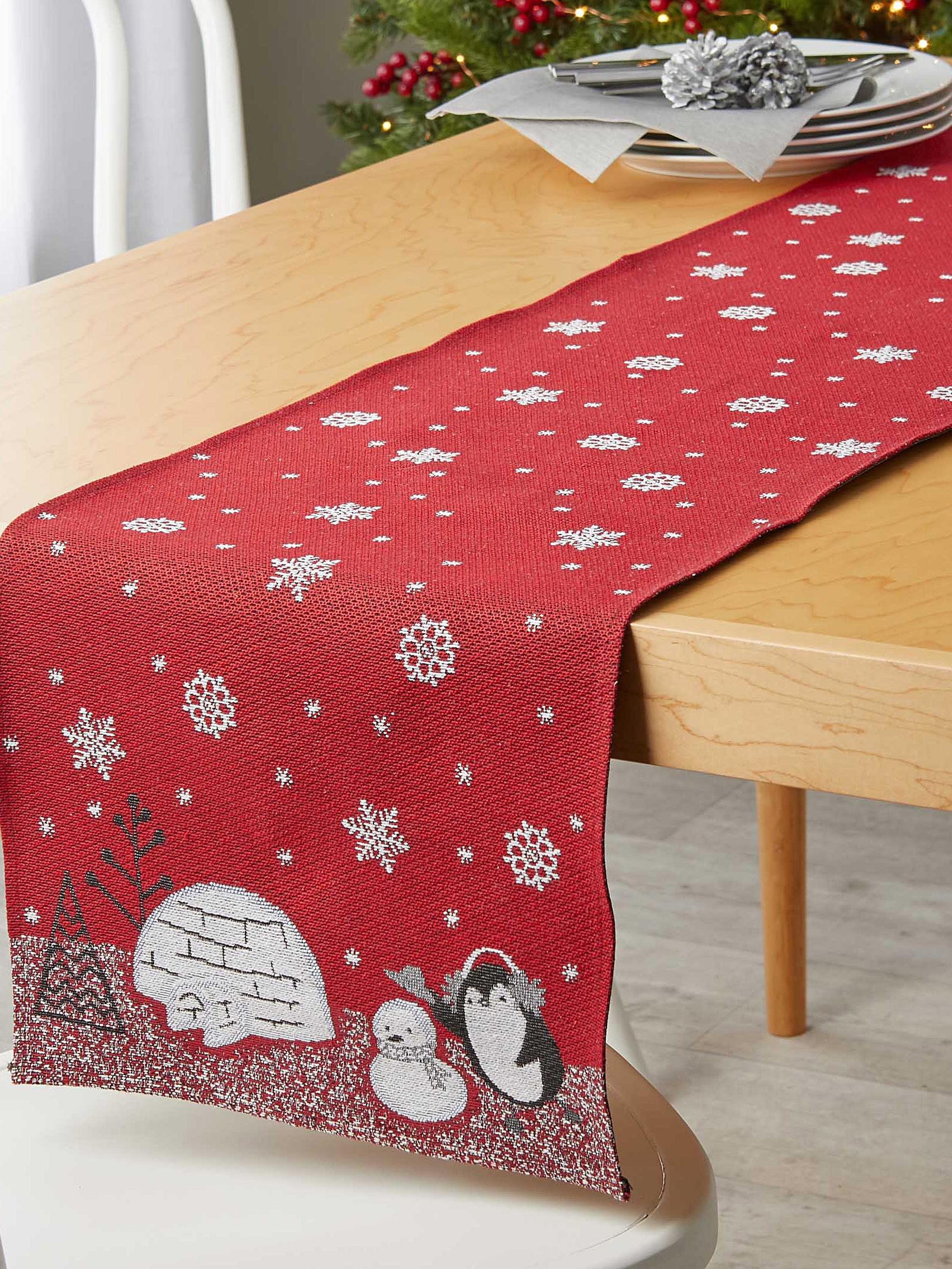 《Simons Maison》2018秋冬圣诞节主题桌布系列Lookbook