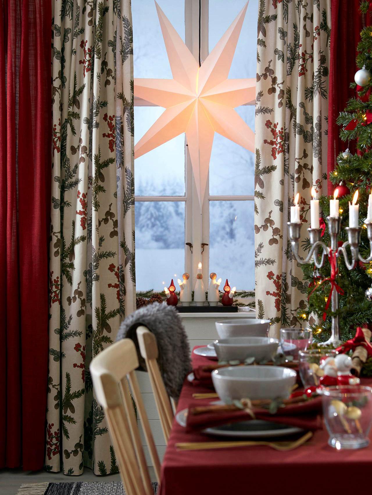 《Cellbes》2018秋冬圣诞节主题窗帘系列Lookbook