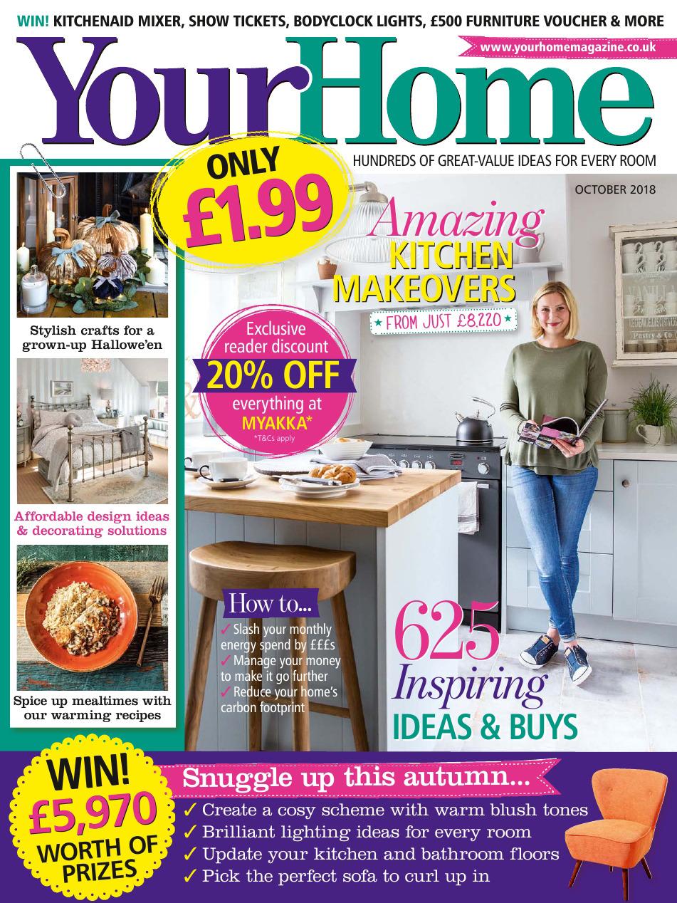 《Your Home》英国家居设计杂志2018年09月号