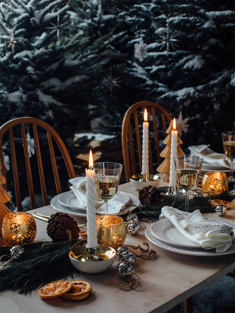 《Zara Home》2018秋冬圣诞节主题陶瓷系列Lookbook