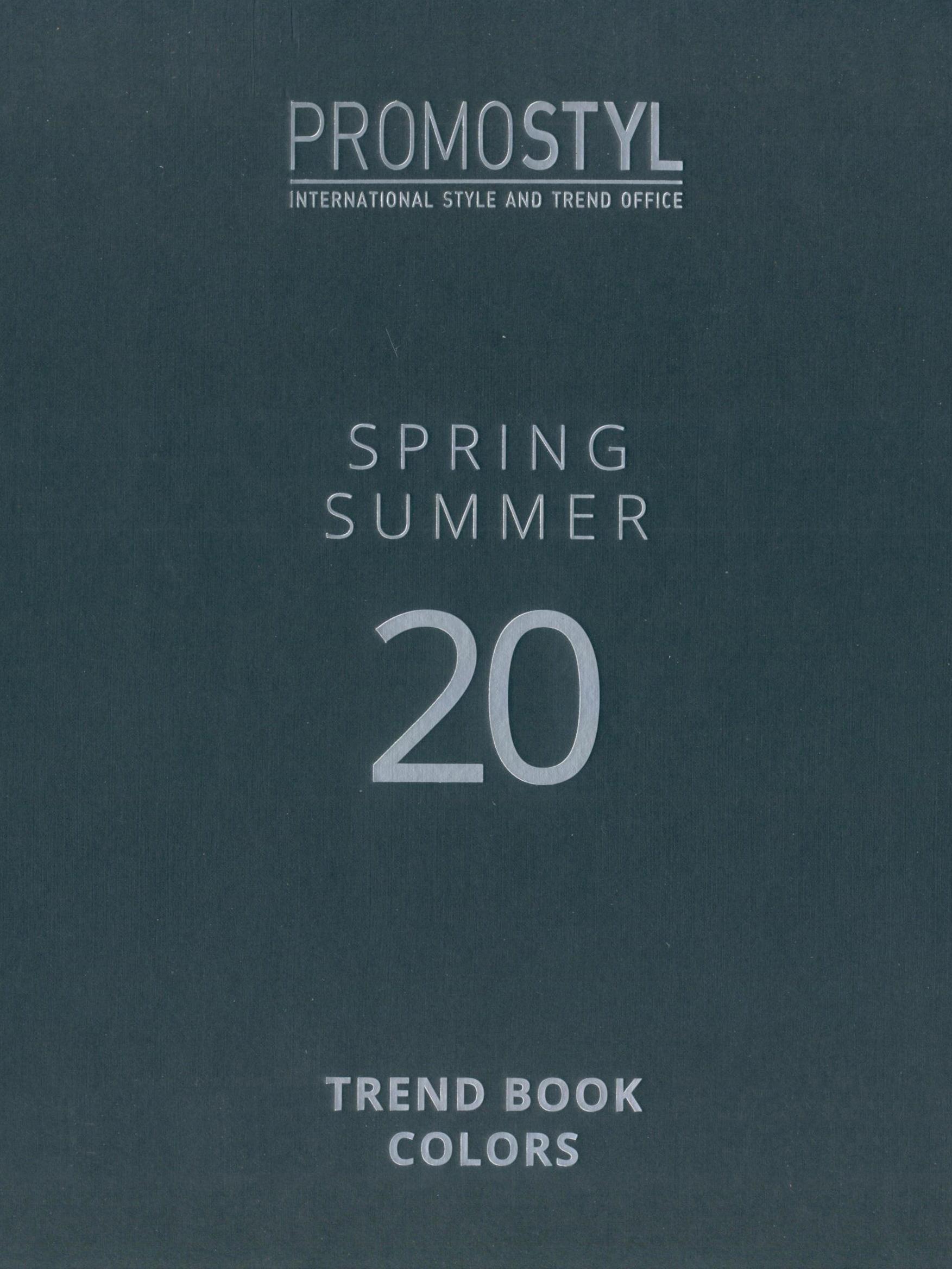 《Promostyl》2020年春夏欧美面料色彩趋势手稿