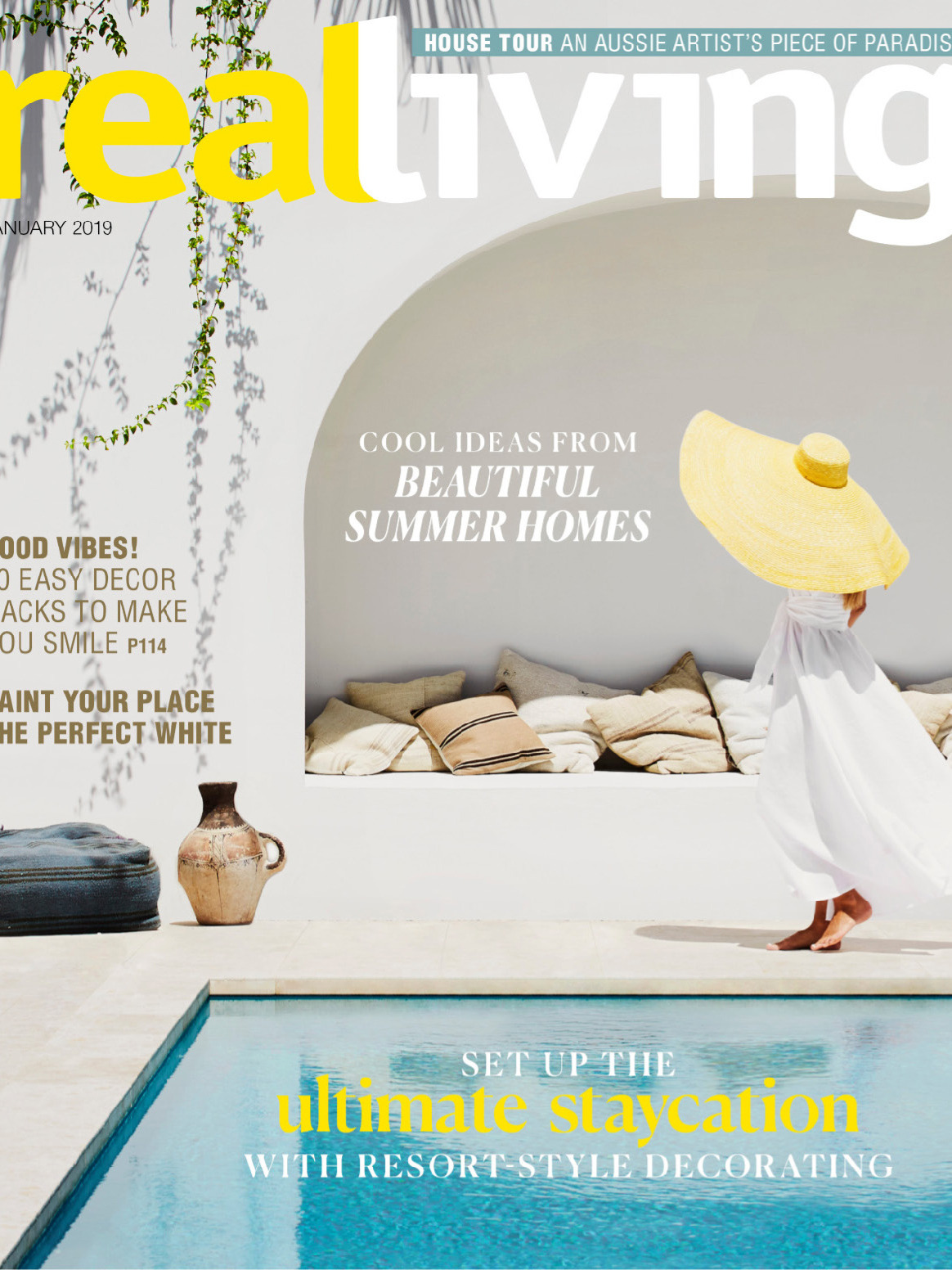 《Real Living》澳大利亚室内设计趋势杂志2019年01月号
