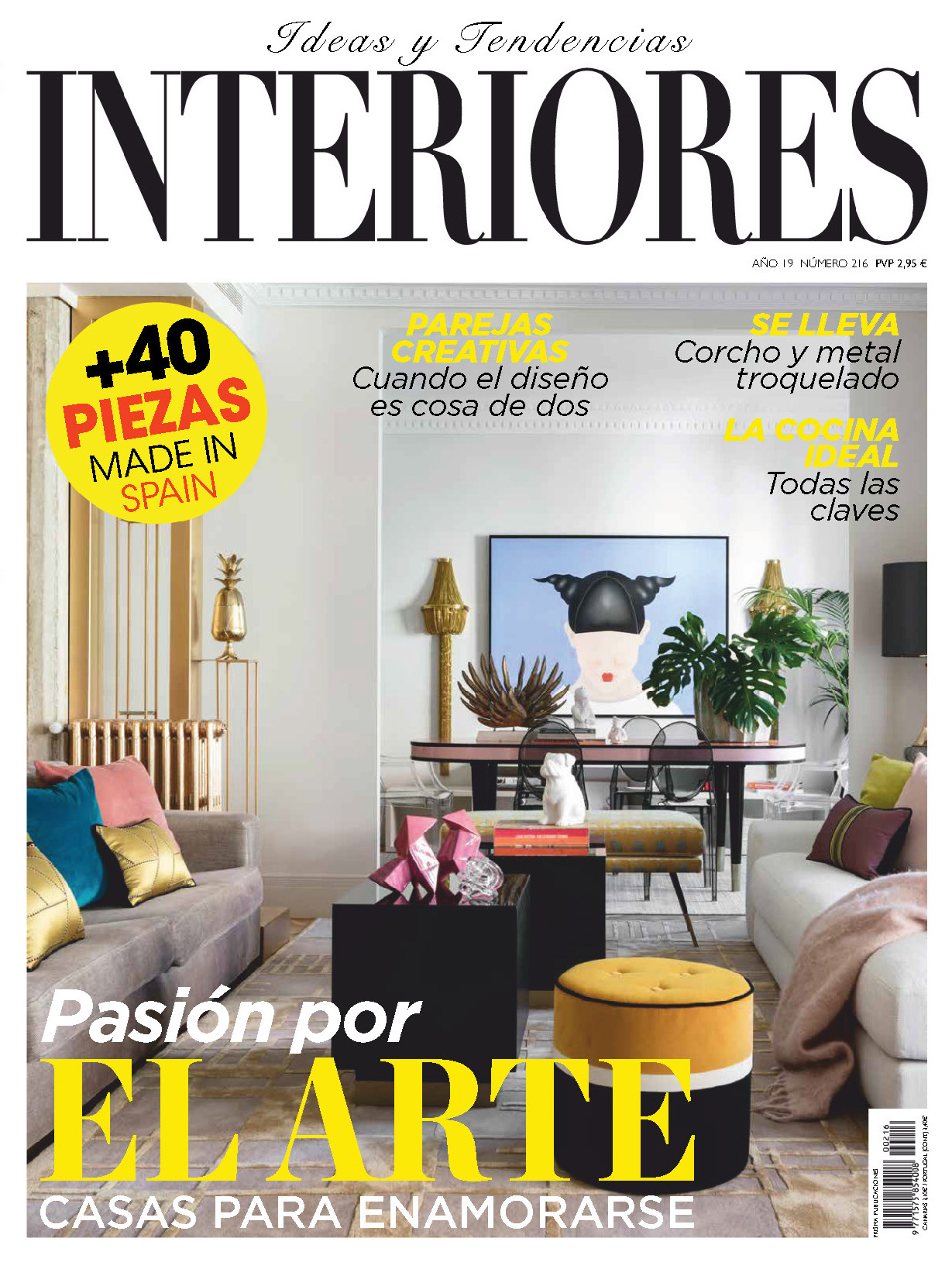 《Interiores》西班牙室内时尚杂志2019年01月号