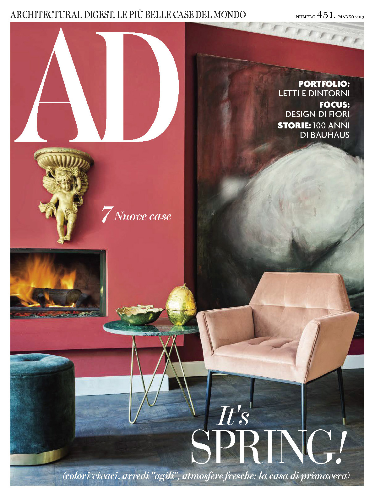 《AD》意大利版室内室外设计杂志2019年03月号