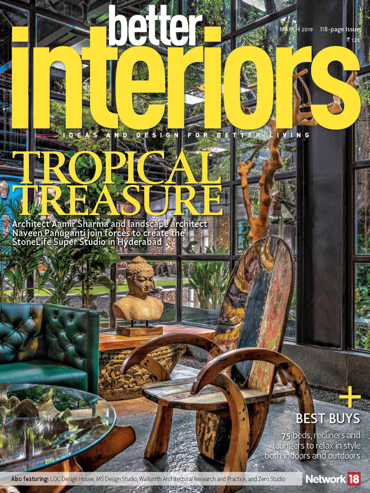 《Better Interiors》印度版时尚家居杂志2019年03月号
