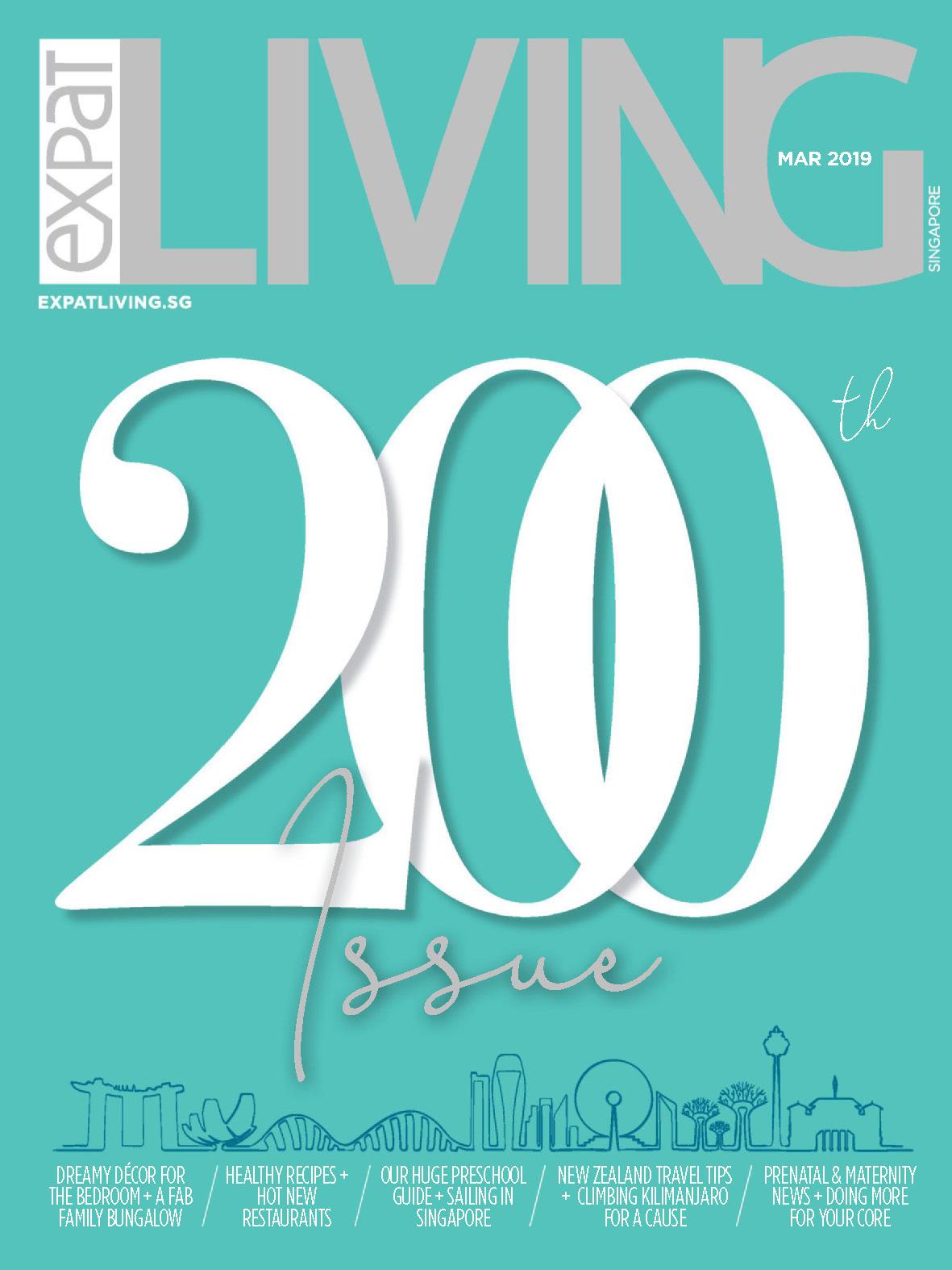 《Expat Living》新加坡版室内设计流行趋势杂志2019年03月号