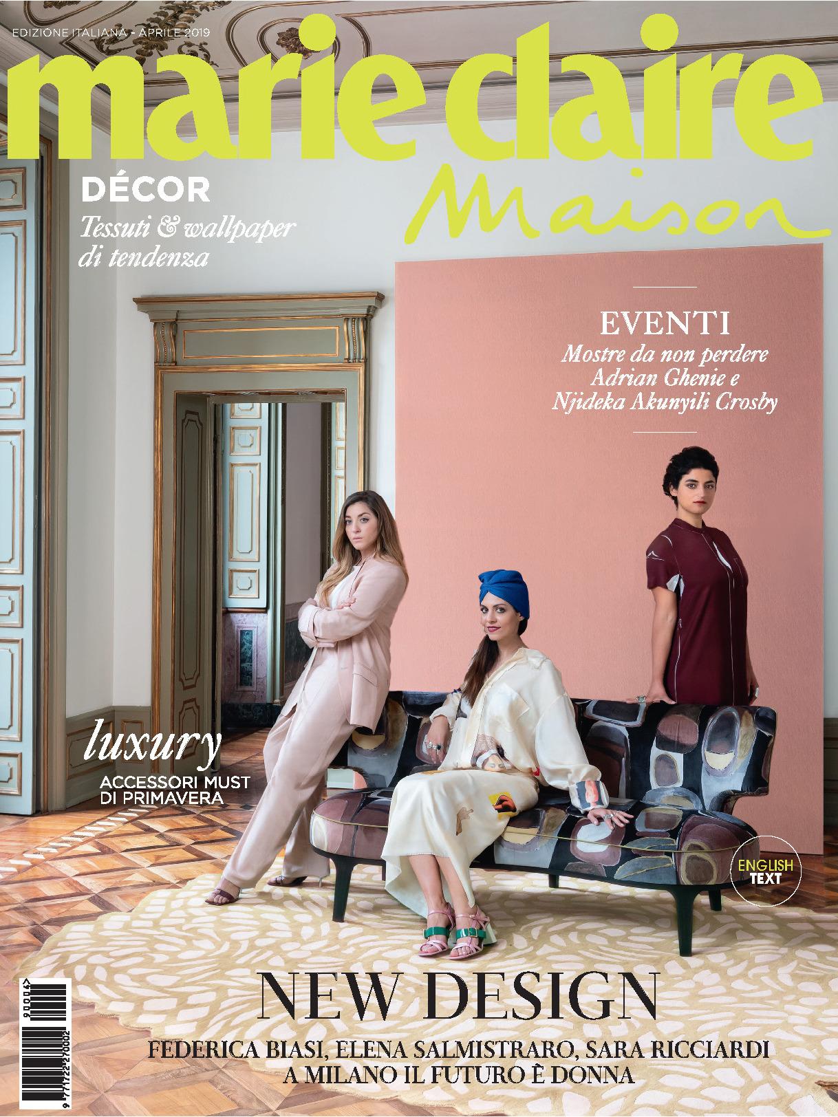 《Marie Claire maison》意大利版时尚室内设计杂志2019年04月号