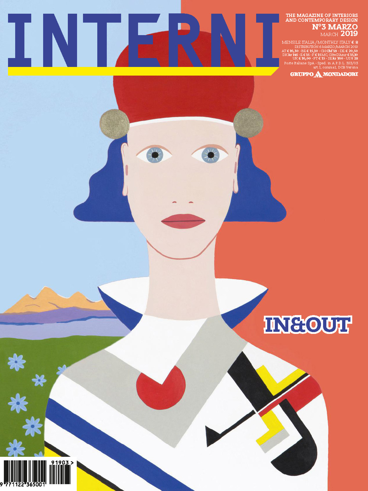 《Interni》意大利室内设计杂志2019年03月号
