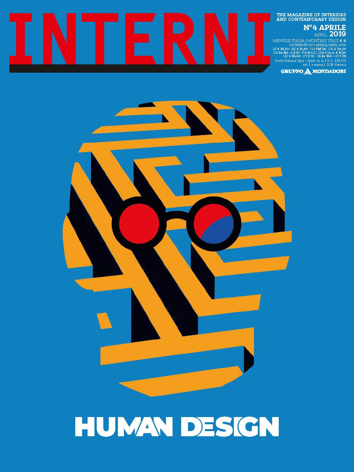 《Interni》意大利室内设计杂志2019年04月号