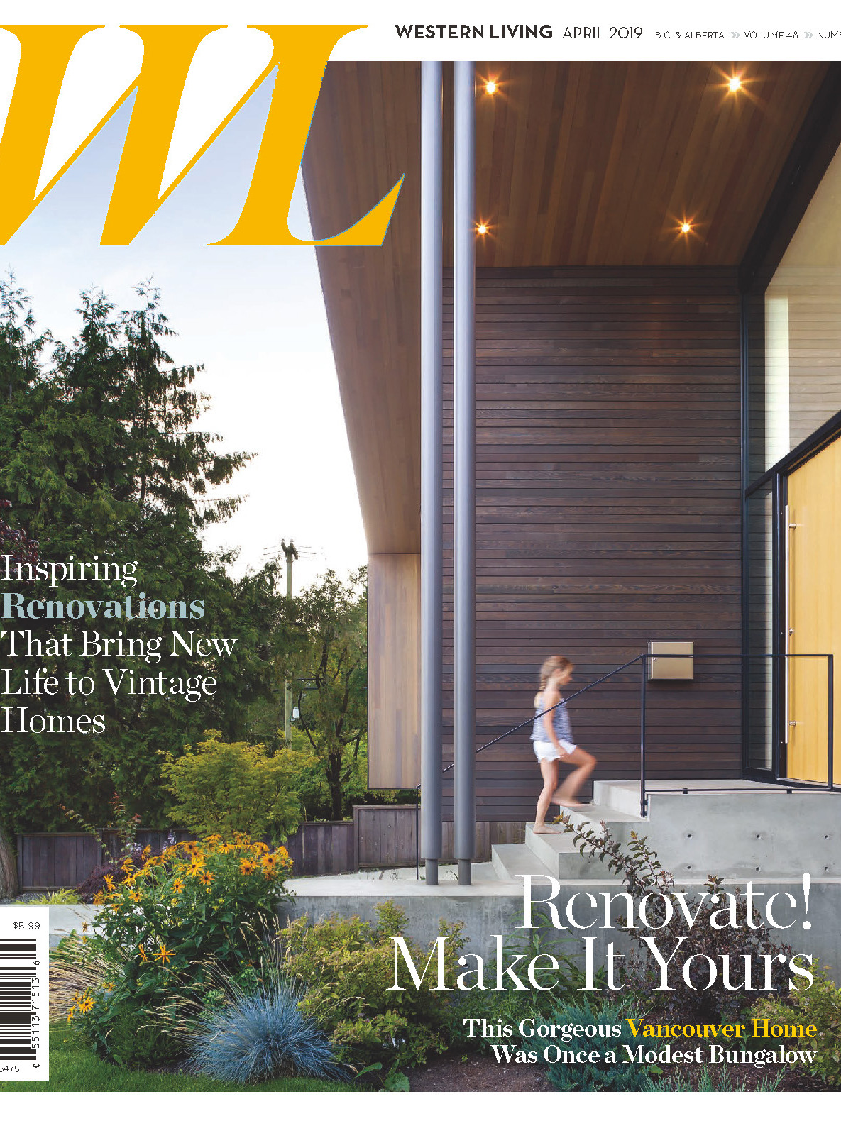 《Western Living》加拿大时尚家居杂志2019年04月号
